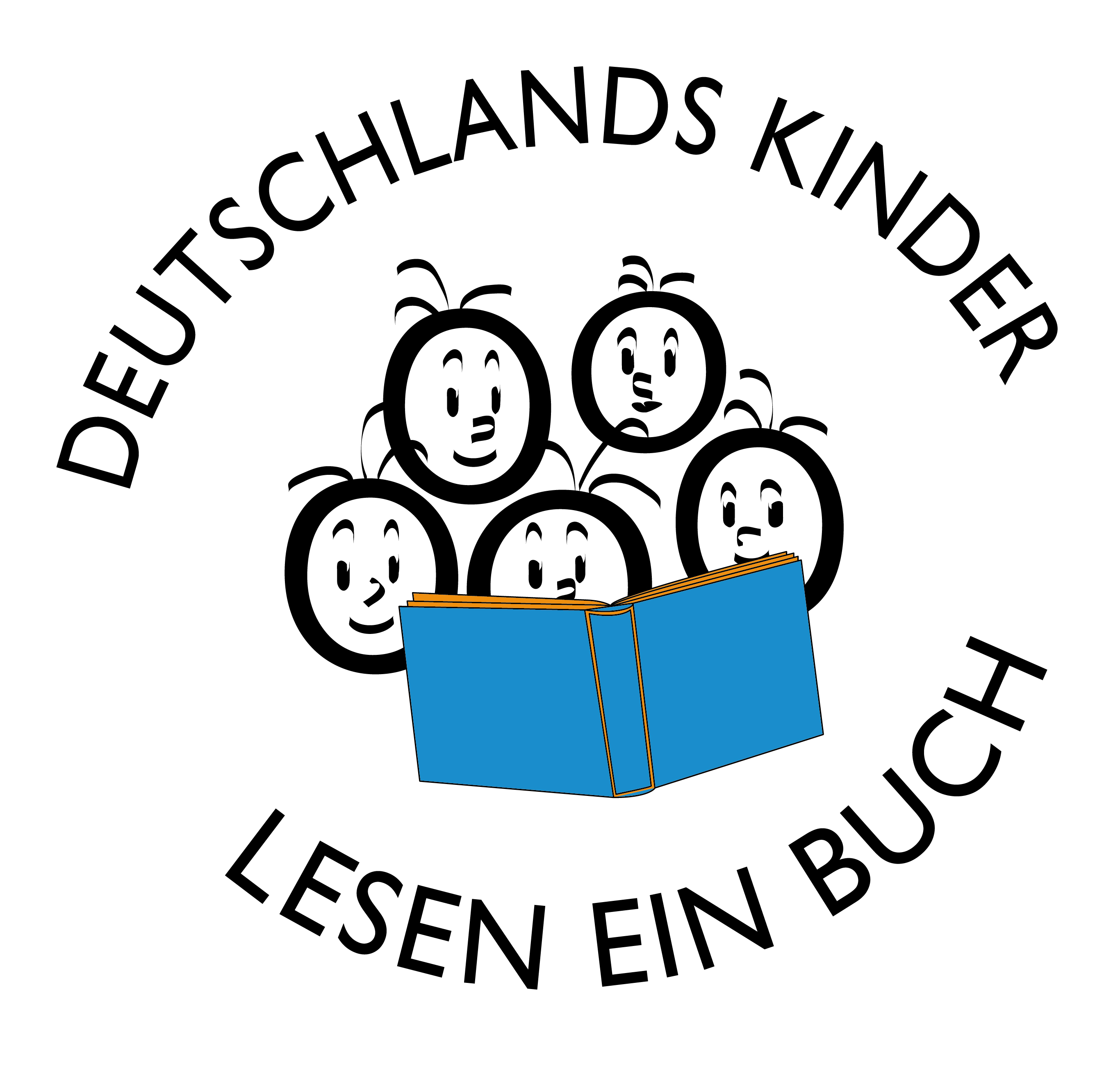 Deutschlands Kinder lesen ein Buch